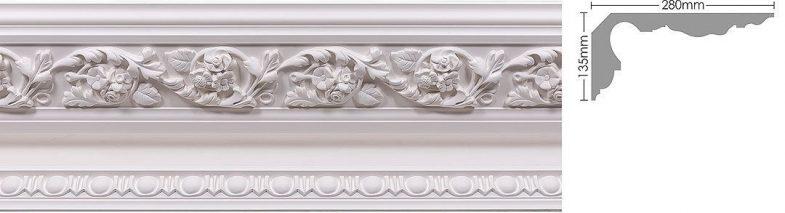 ornate coving