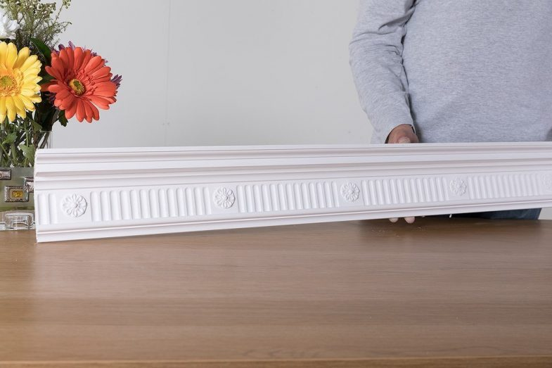 fluted frieze