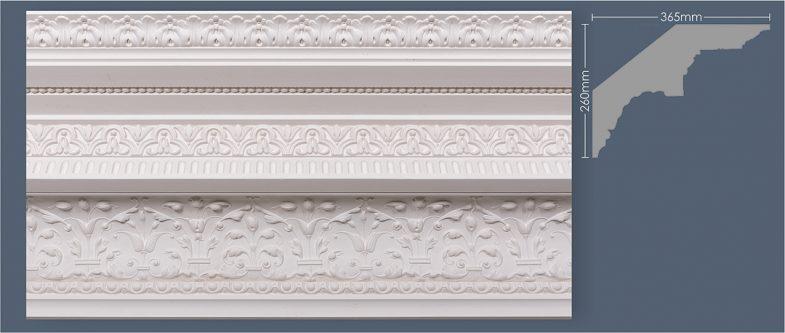 victorian plaster cornice