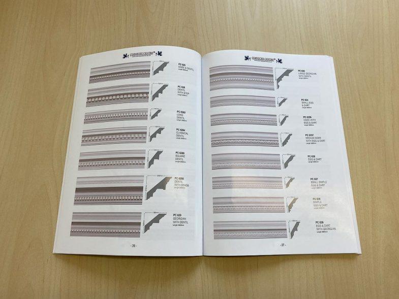 cornice catalogue