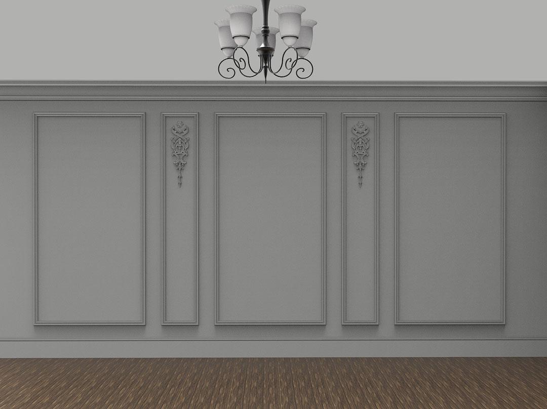 plaster wall paneling