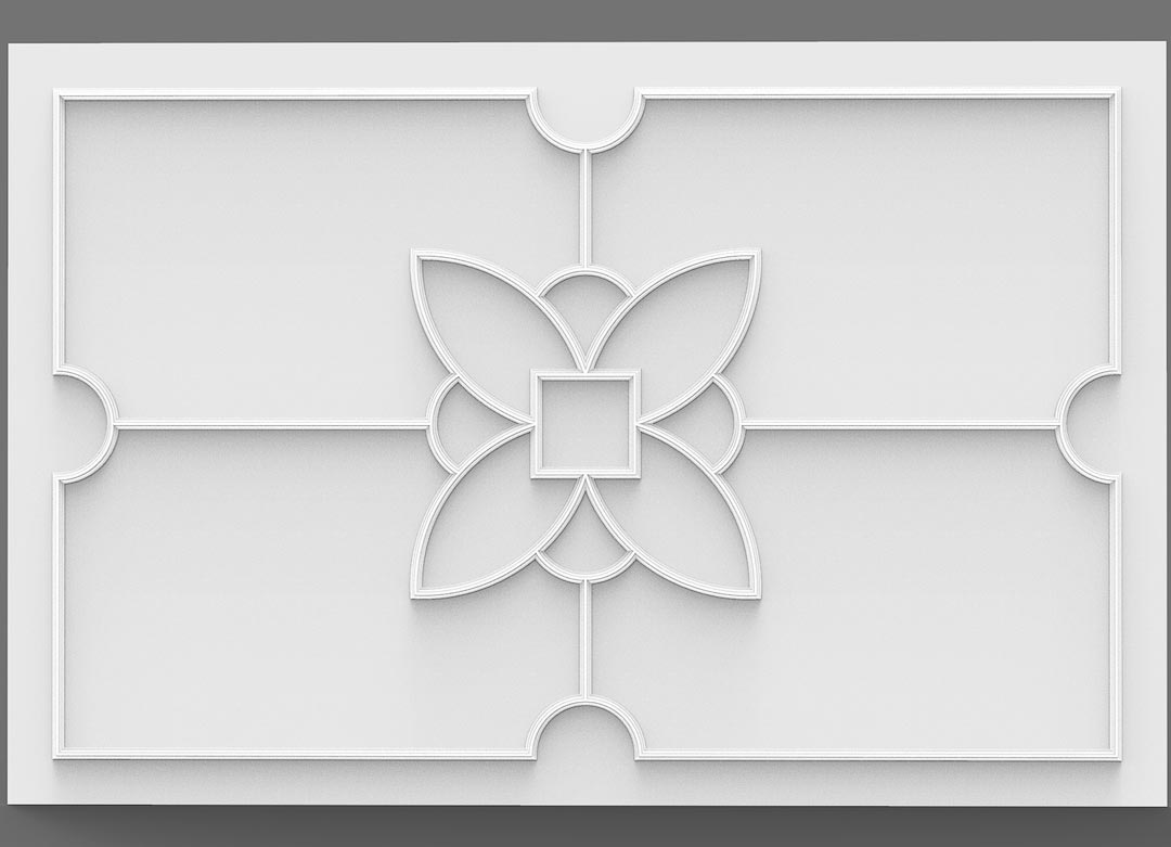 lotus ceiling designs