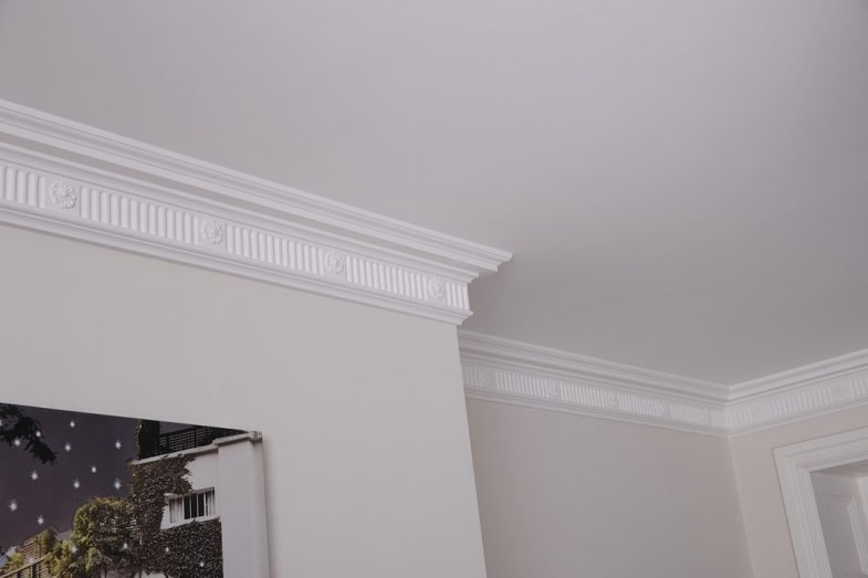 fluted coving