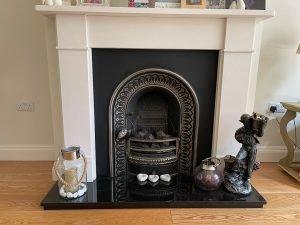 london plaster fire surround